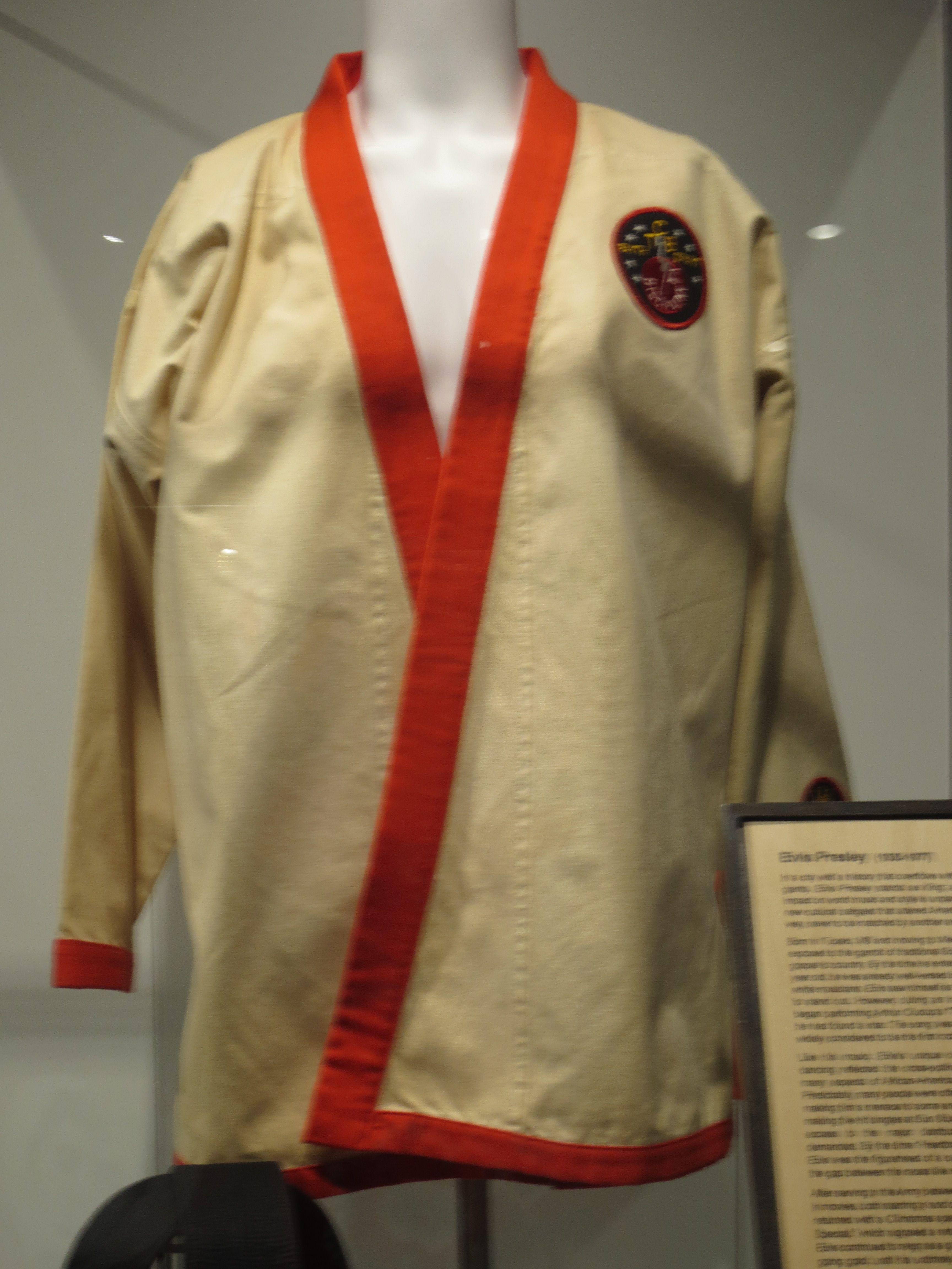 Elvis karate outfit