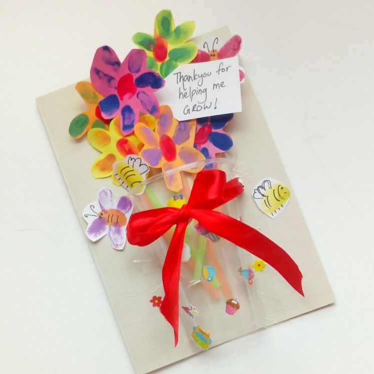 Thank You Teacher Card End Of Year Thank You Farewell Card 3d Card Teacher Gifts Farewell Cards Thank You Mum
