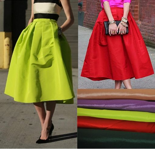 c12eeb19df Retro Pleated Maxi Long Skirt High Waisted Saia Midi Puff New 2014 Atacado  Roupas Femininas Summer Skirts Female Womens Vestidos