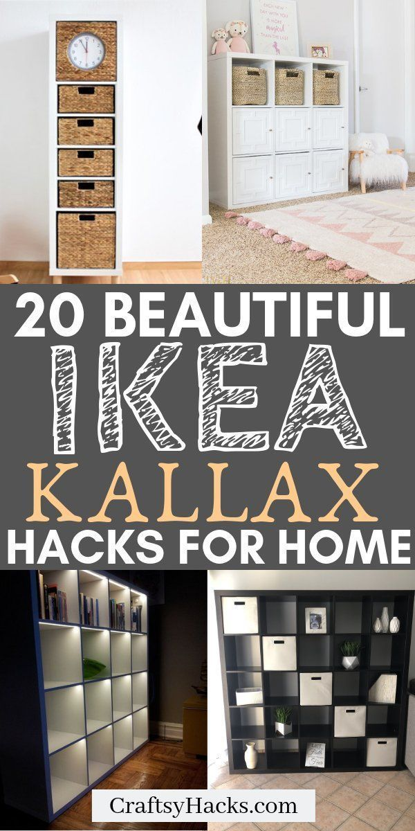 Photo of 20 IKEA KALLAX Hacks Your Home Needs