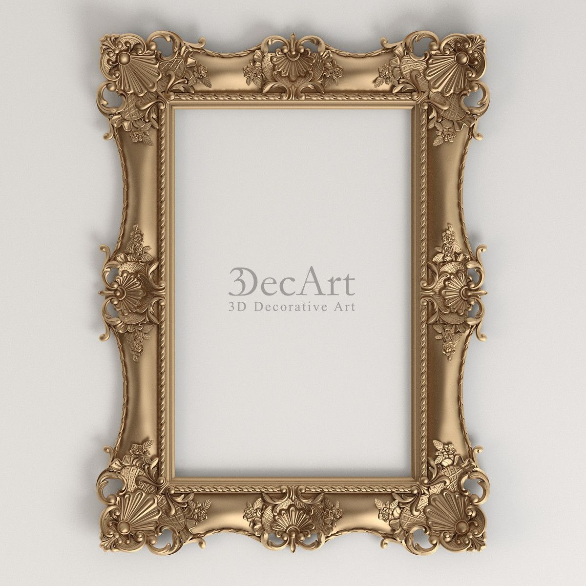 decorative frames 3d max | c4d art in 2018 | Pinterest | Decorative ...