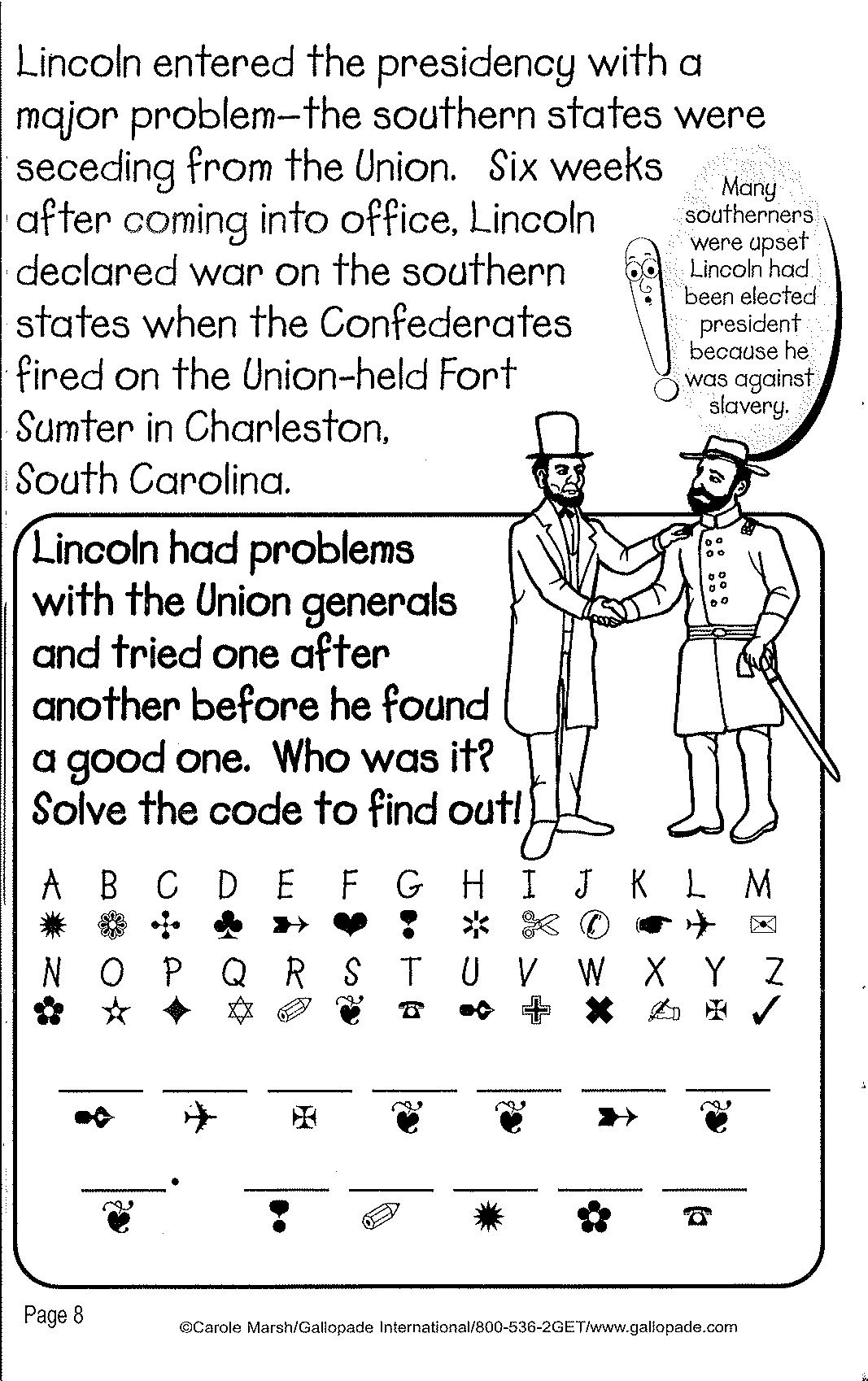Learn A Bit About Lincoln With This Free Printable