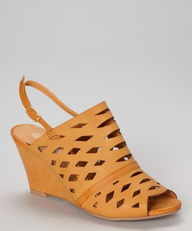 $16.99 (This Event ends in 2 - Days, 23 hours) Love this Tan Calcutta Wedge Sandal http://www.zulily.com/?SSAID=930758&tid=acceleration_930758 #zulily! #zulilyfinds