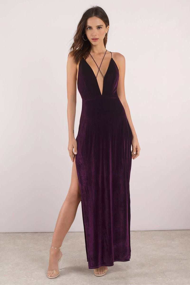 7f0eaecfa9bb4a Maxine Velvet Maxi Dress | Dress to BLESS | Dresses, Velvet gown ...