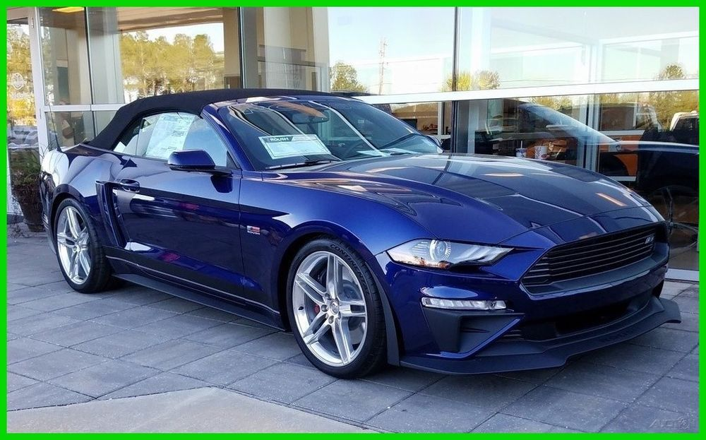 New Ford Mustang 2019 Convertible Coupe Ford Uk >> 2019 Ford Mustang Convertible Gt Premium Ebay Motors Ford