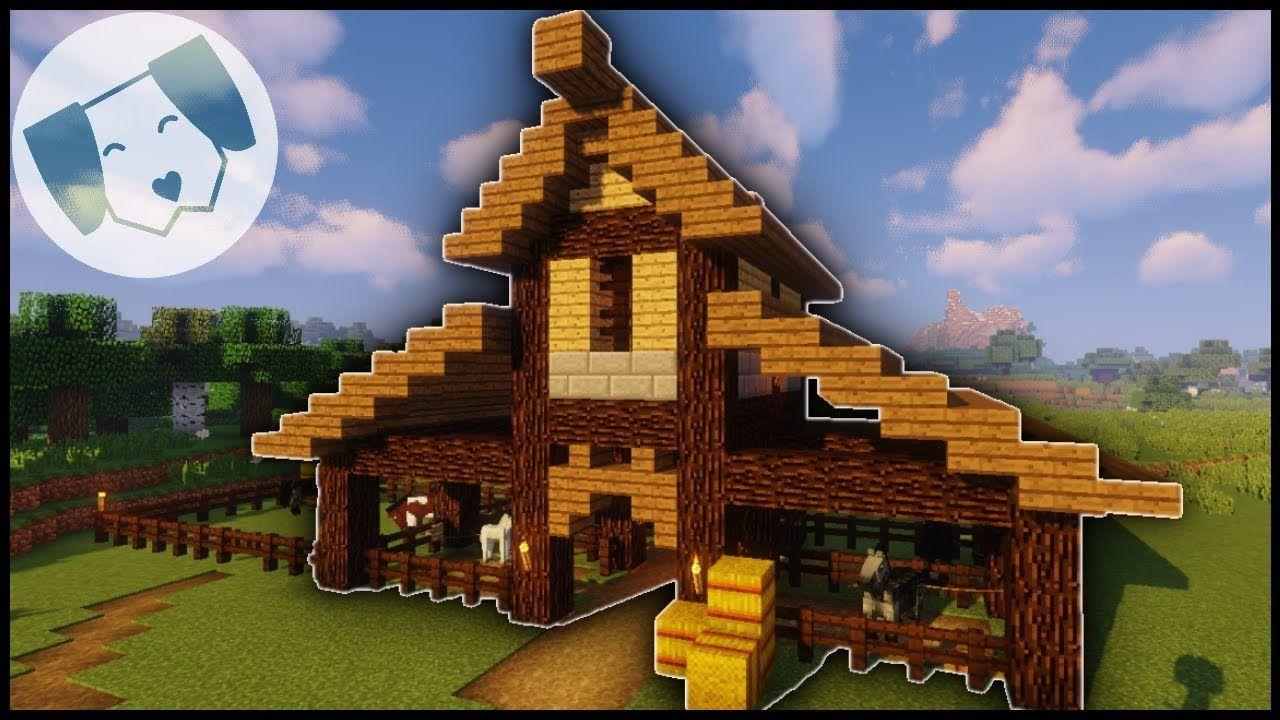 Minecraft Barn Designs