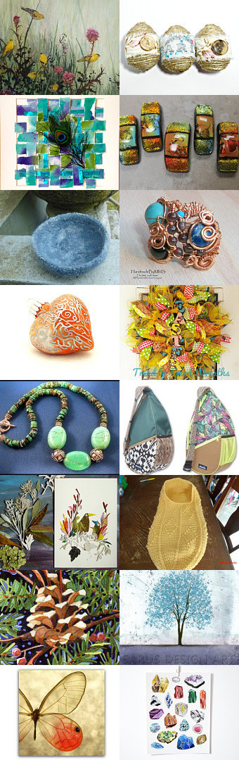 Colors of the Natural World by Jen Norton on Etsy--Pinned with TreasuryPin.com #Estyhandmade #giftideas #springfinds