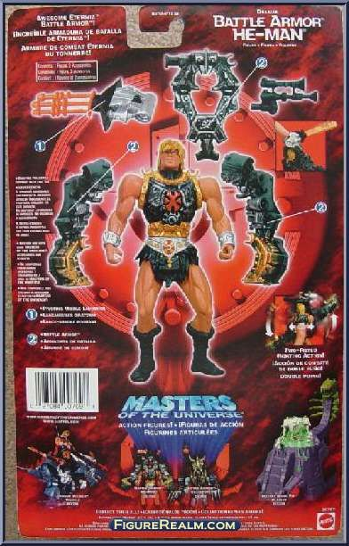 He-Man 2002 Series | He-Man (Battle Armor) from He-Man - 2002 Series - Deluxe Figures ...