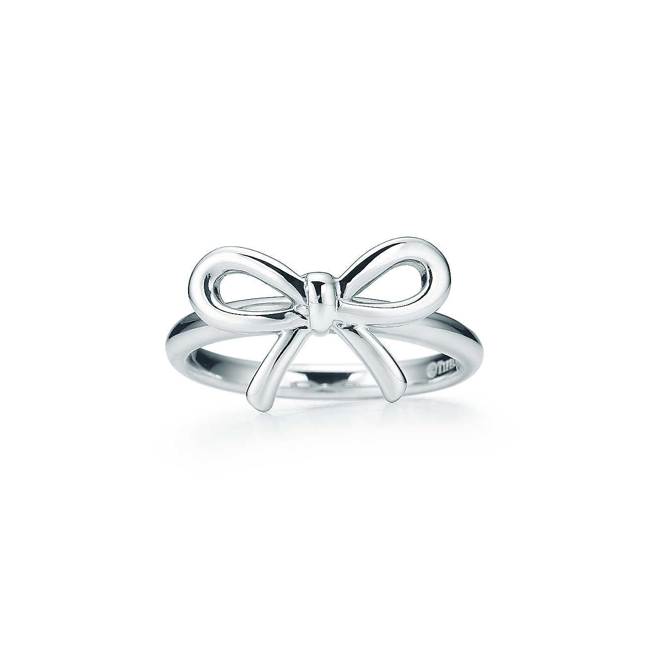 997a01afc Tiffany Bow:Ring | minus Evocative of the slender thread one might tie  around one's finger to remember something—or someone—Tiffany Bow is a  charming symbol ...