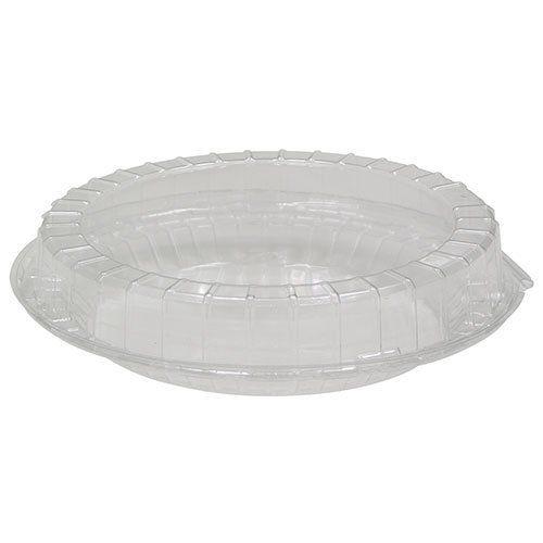 AGIANT Disposable Aluminum 4 Deep Mini Pie//Tart Pan with Clear Dome Lids 1152P 50