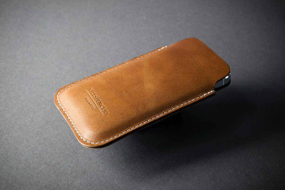 KILLSPENCER iPhone 5 Leather Pouches | Gadget Heaven