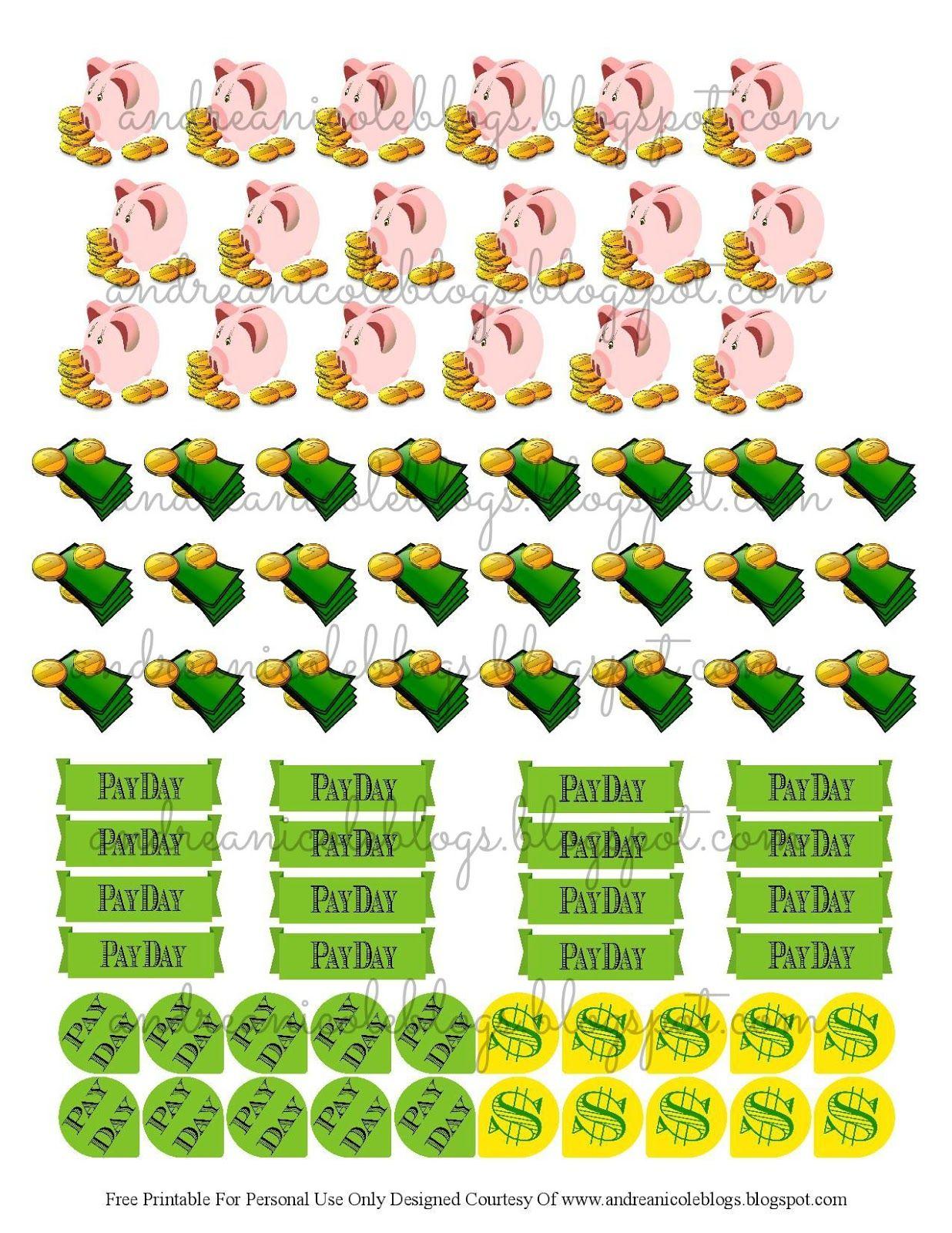yy Payday Sticker// Money Stickers planner sticker// Expenses Sticker