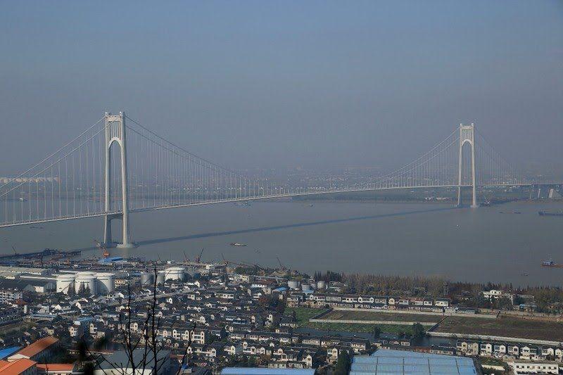Nanjing Fourth Yangtze River Bridge Bridges Bridge