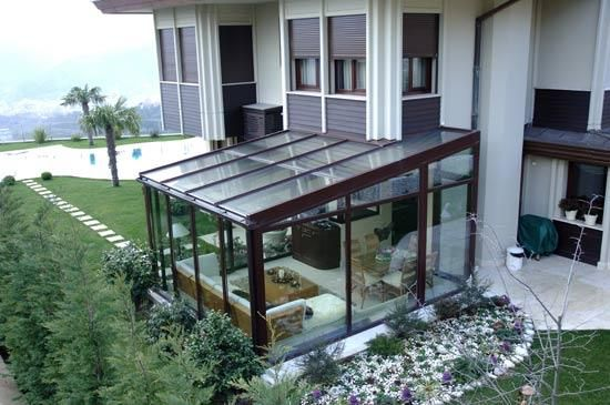 This Would Be A Neat Place To Be When It Is Snowing. Winter GardenSunroom Garden ...