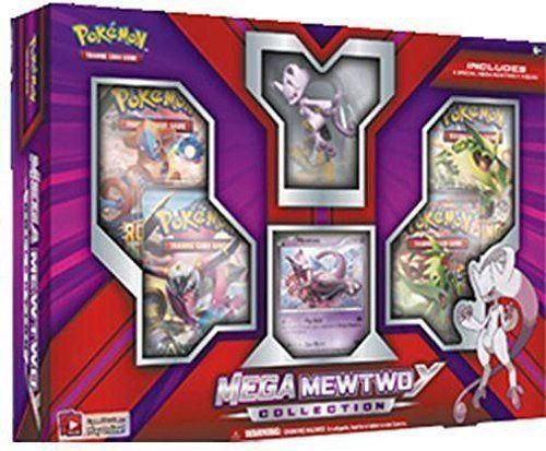 Pokemon TCG MEWTWO EX Collection Box Booster Card Pack Brand NEW Factory Sealed