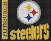 Items similar to CROCHET PATTERNS PITTSBURGH STEELERS AFGHAN PATTERN GRAPH E-MAILED .PDF on Etsy