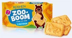 Печенье ZOO-BOOM с молоком  для детей 68 г Рошен   Печиво ZOO-BOOM з молоком для дітей 68 г Рошен