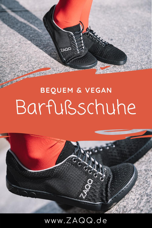 Vegane Schuhe in schwarz | Barfußschuhe in 2020