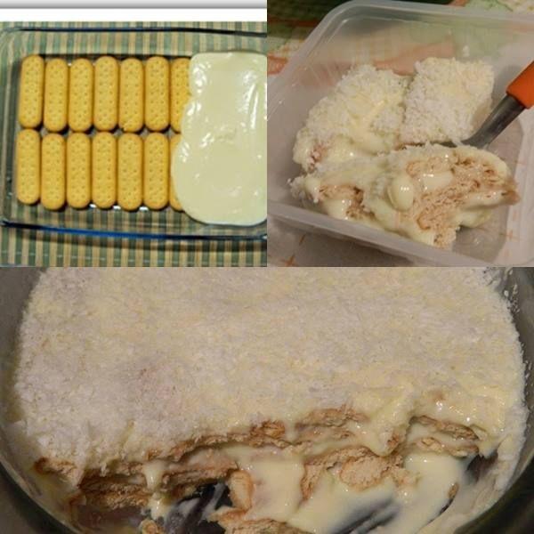 Aprenda fazer a Receita de Pavê de biscoito maizena. É uma Delícia! Confira os Ingredientes e siga o passo-a-passo do Modo de Preparo!