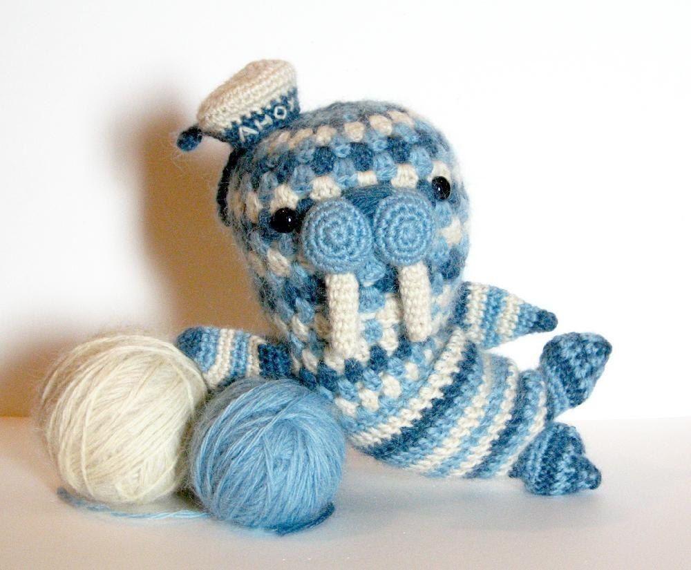 Walter The Walrus Amigurumi Pattern Crochet Projects Crochet