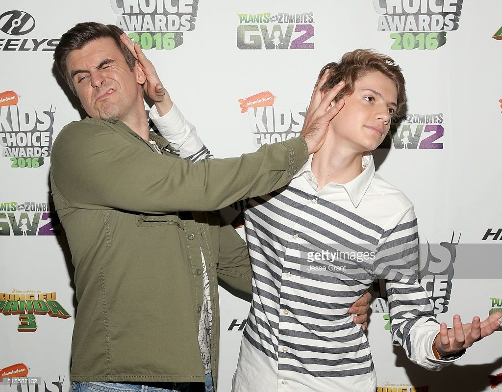 News Photo : Actors Cooper Barnes and Jace Norman attend the ...