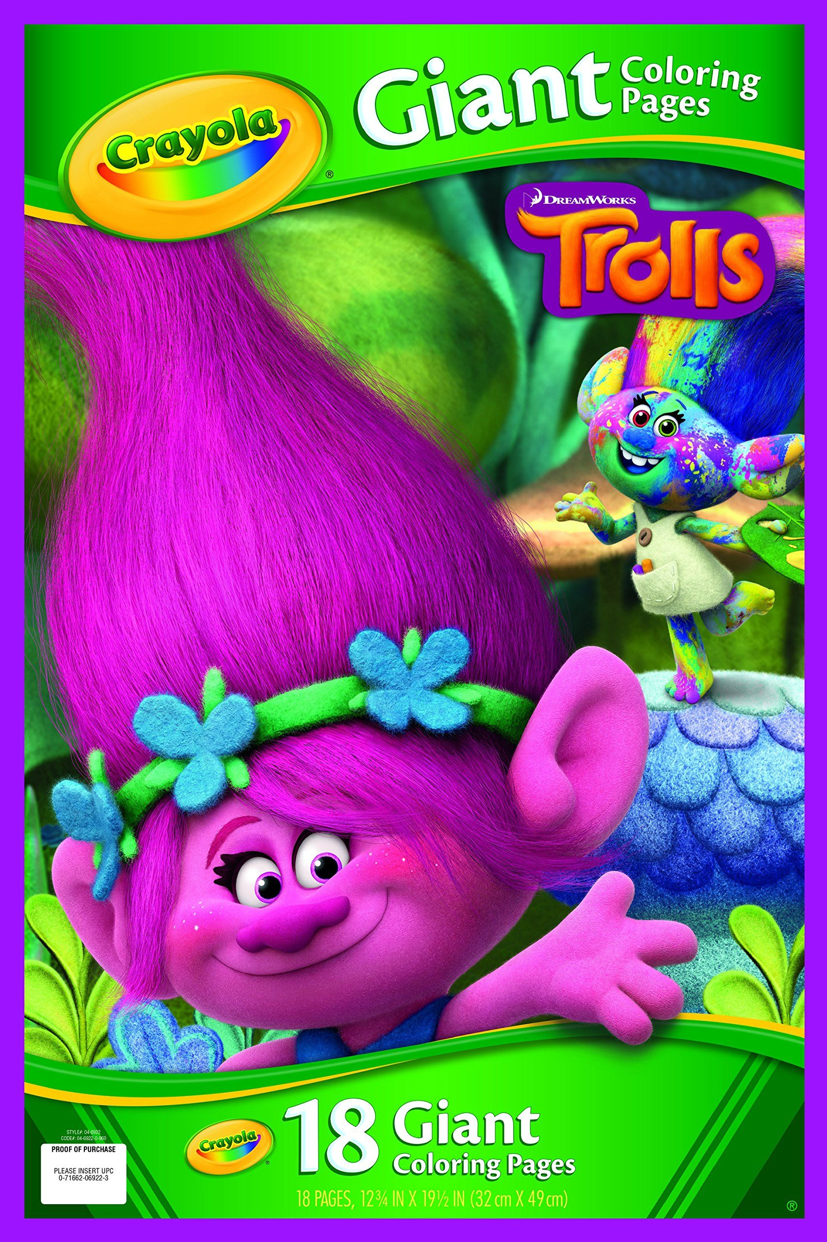Crayola Giant Coloring Pages Trolls White Coloring Pages Crayola Coloring Books