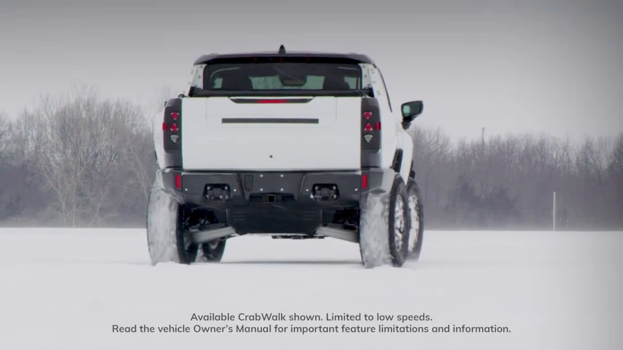 Gmc Hummer Ev Revolutionary Snow Day Tv Commercial 2021 In 2021 Gmc Hummer Tv Commercials