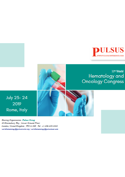 11th World Hematology and Oncology Congress   Oncology ...