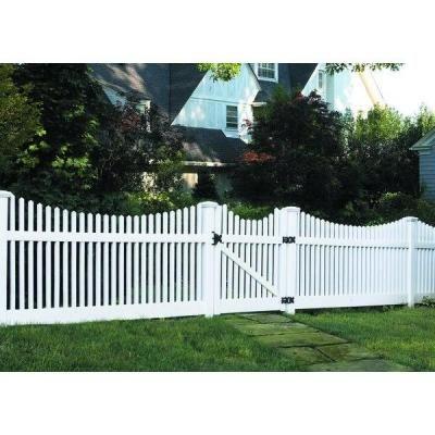 vinyl fence panels home depot. W White Vinyl Un-Assembled Fence - The Home Depot Panels A