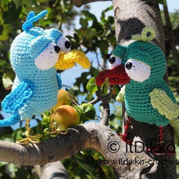 Amigurumi Crochet Pattern - Billy the Bird - English Version ...