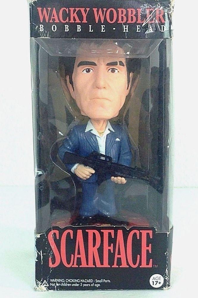 Funko Scarface-Tony Montana Wacky Wobbler Bobble Head