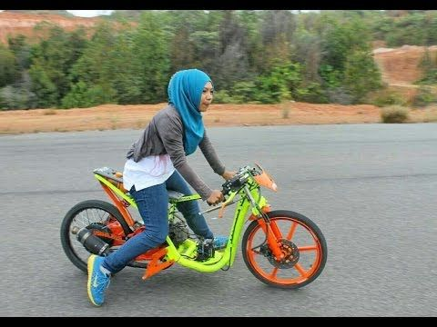 Drag Bike Raya Kitty Vs Indri Barbie Beken Id Kendaraan