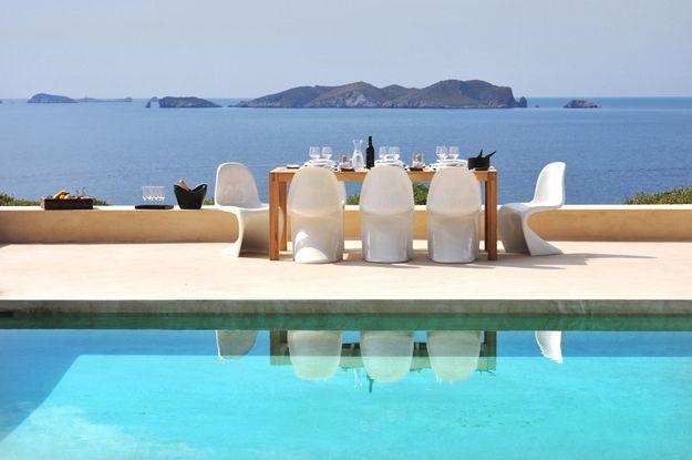A stunning sunset villa in Ibiza