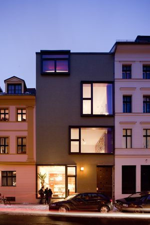The Architect Jörg Ebersu0027 Building In Berlin Mitte   Andreas Meichsner For  The New York Times