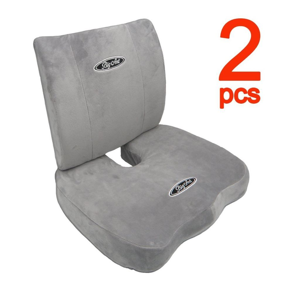 Icymi big ant orthopedic memory foam seat cushion and lumbar
