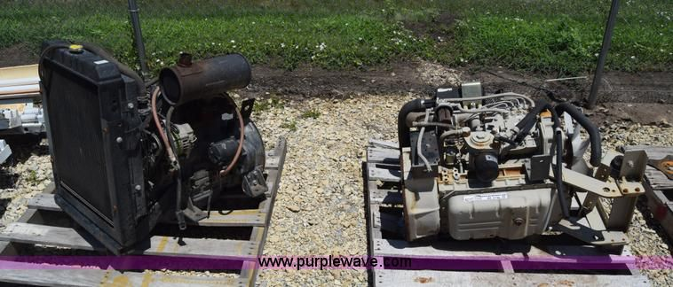 (2) Yanmar four cylinder diesel engines