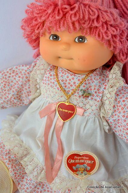 Coleção Boneca Quem Me Quer Década 80 Bonecas Brinquedos