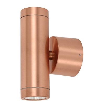 Ledlux Marine Ip65 Led 240v 2 Light Up Down Light In Copper Downlights Beacon Lighting Copper Fittings