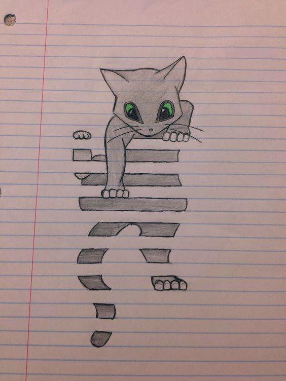 Meine Kunst #dessin #Kunst #meine Anke Blog Zeichnungen #katzen