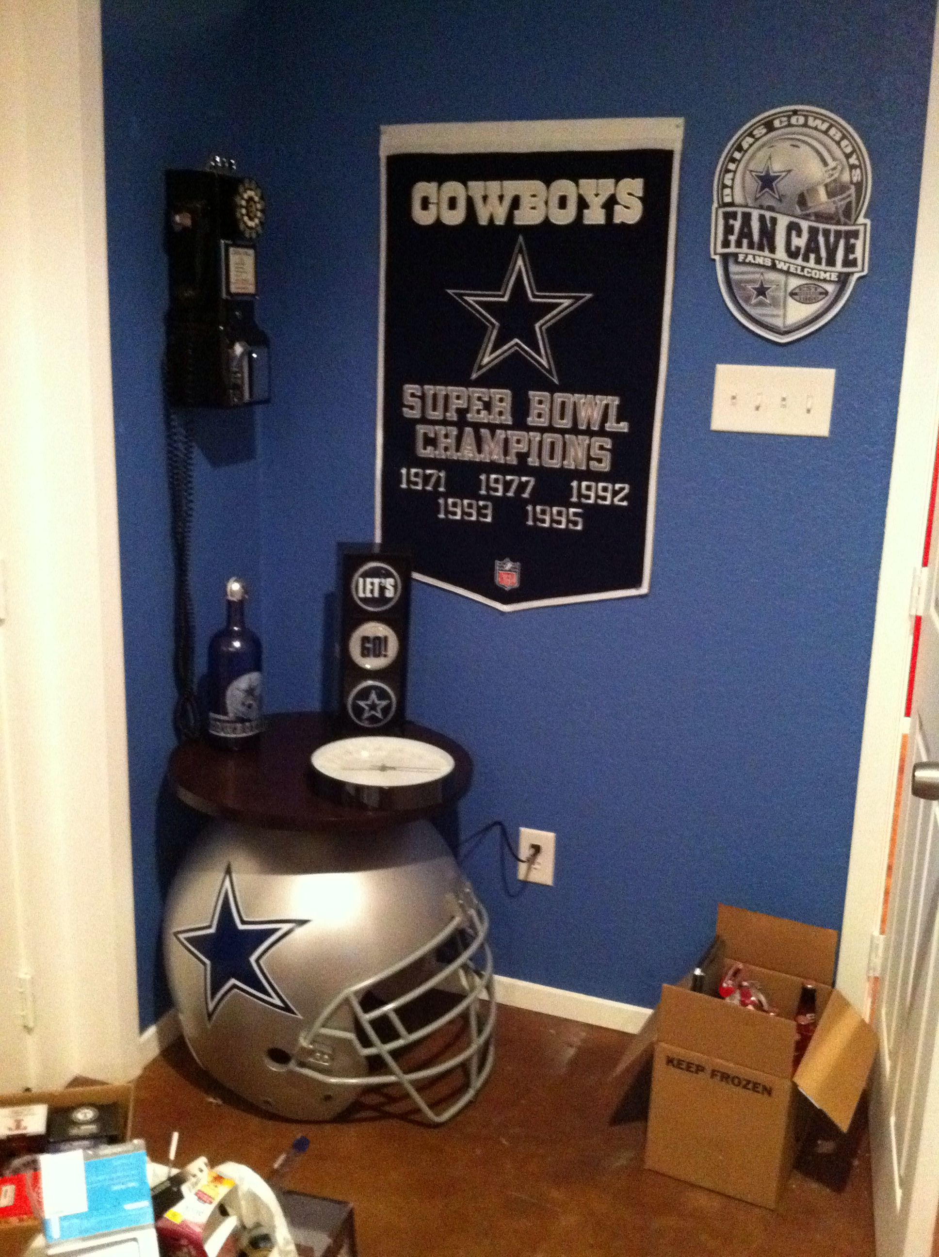 Dallas Cowboys Game Room Decor