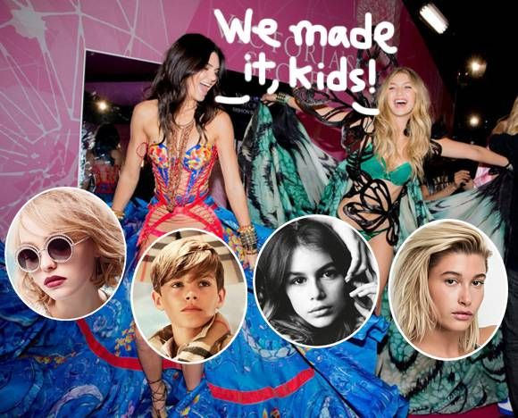 Celebrity Model Children! A-List Offspring Hit The Runways & Magazines!