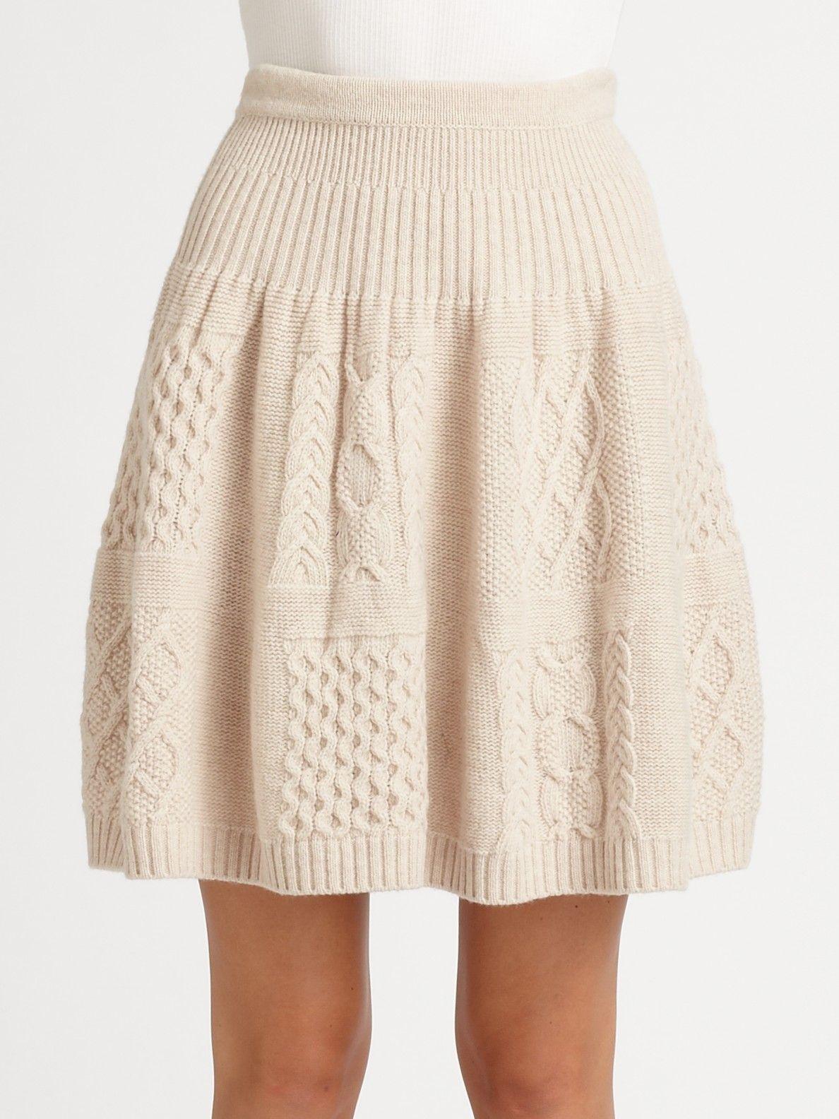 Womens natural glenda cableknit skirt knit crochet yarn womens natural glenda cableknit skirt skirt patternsskirt pattern freeskirt knitting bankloansurffo Images