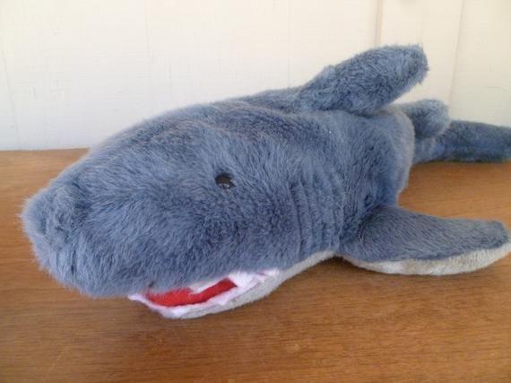 foto de Large Mary Meyer Blue Shark Plush in 2020 Shark plush