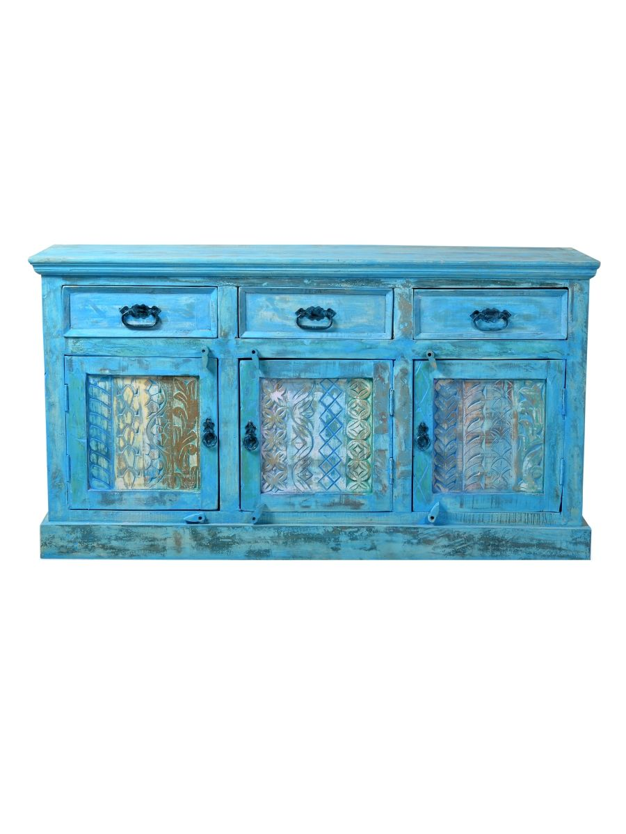 sit m bel sideboard blue kaufen im borono online shop sit m bel blue pinterest einrichtung. Black Bedroom Furniture Sets. Home Design Ideas