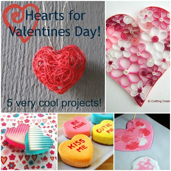 5 Very Cool Valentine Craft Projects Valentine S Day Ideas