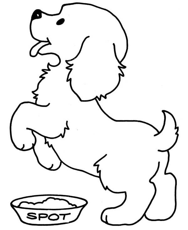 7d28fd27225069ce1411239110b7fdb5 » Printable Pictures To Color Happy Dog