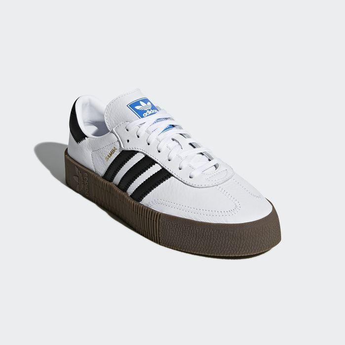 e38359c74934 SAMBAROSE Shoes White 8 Womens Black Gums