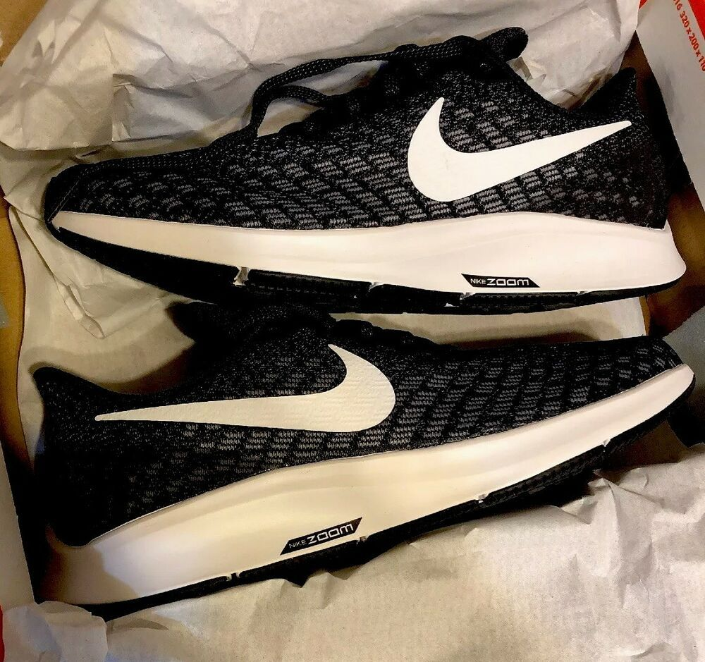sports shoes ad197 a2b83 Nike Pegasus Air Zoom 35 Running Womens Black Grey White Brand New In Box  Deal -