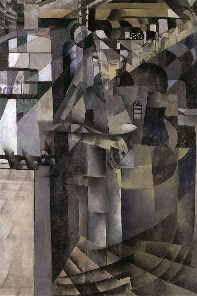 Life at the Grand Hotel Malevich fine art giclee print poster various sizes
