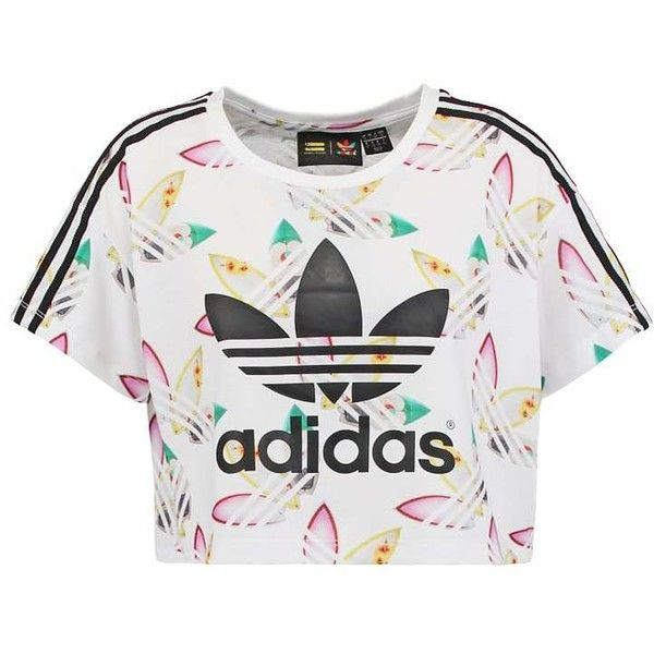 adidas Originals Print T shirt whitemultcoloured ($34